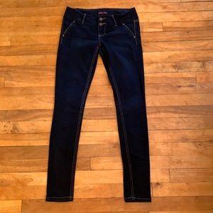 4/$40 - BLUE SPICE Lightweight Skinny Jeans - 5
